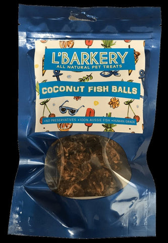 L'Barkery Coconut Fish Balls-Bad Wolf Australia-Bad Wolf Boutique