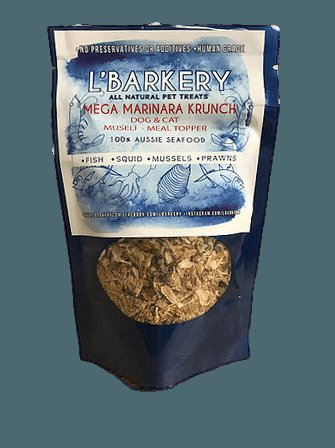 L'Barkery Mega Marinara Krunch - 250g Packet