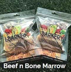 L'Barkery Beef And Marrow Bites - 150 gram packet