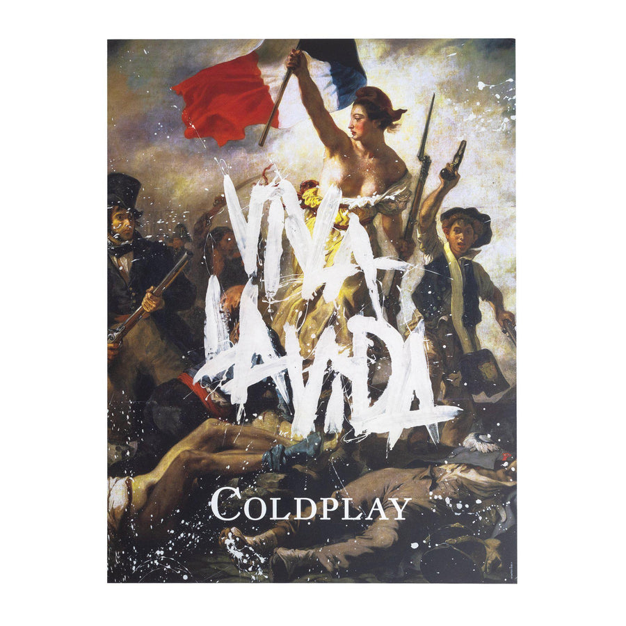 VIVA LA VIDA OR DEATH AND ALL HIS FRIENDS - LITHOGRAPH