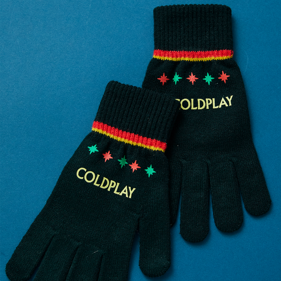 CHRISTMAS LIGHTS COLDPLAY GLOVES