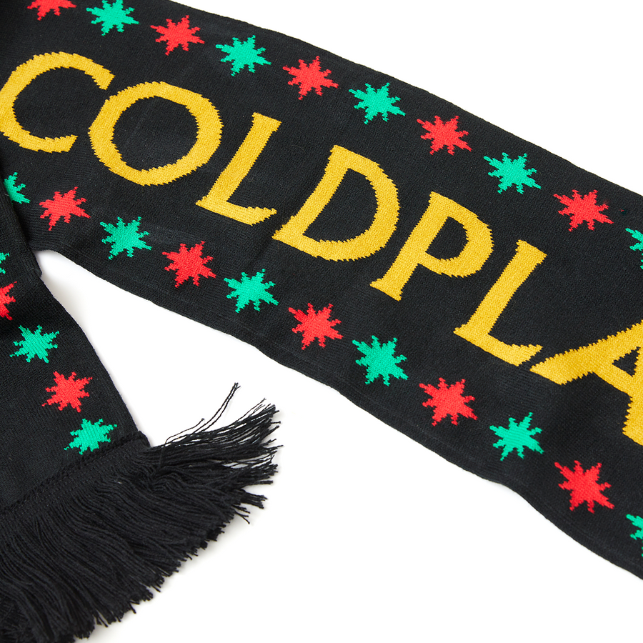 CHRISTMAS LIGHTS COLDPLAY SCARF