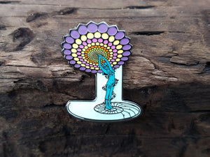 Lapel Pin - Within You, Without You - Fractal Spirit