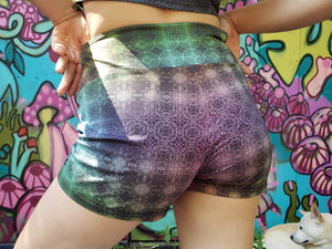 Booty Shorts - Tessellation
