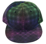 Hat, Snapback - ColorShift Tessellation