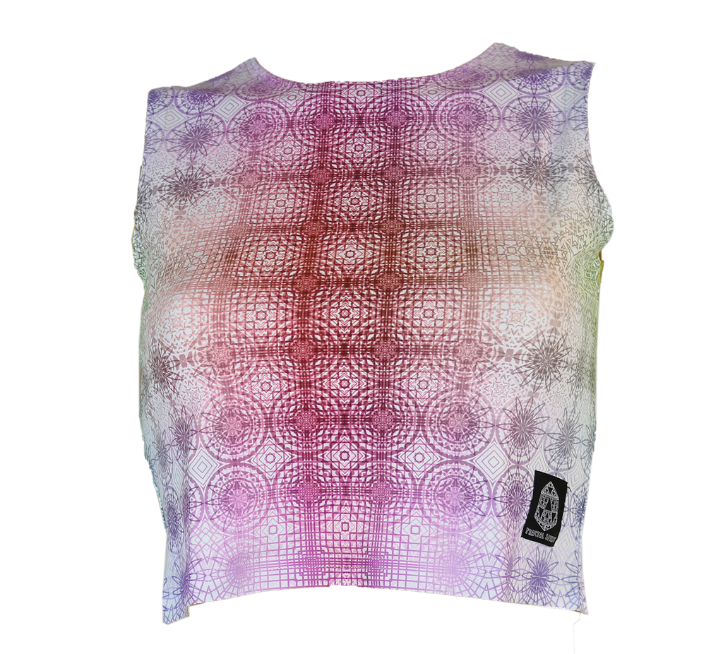 Crop Top - Inverse Tessellation