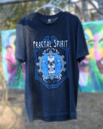 Shirt (Screen Print) - Skull Head Face - Fractal Spirit