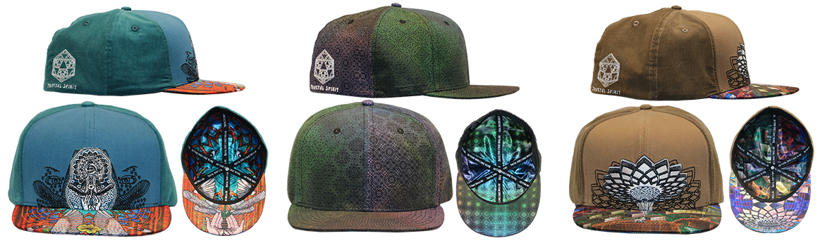 Fitted Hat - Tessellation - Fractal Spirit
