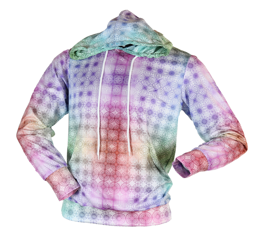 Thin Pullover Hoodie - Inverse Tessellation