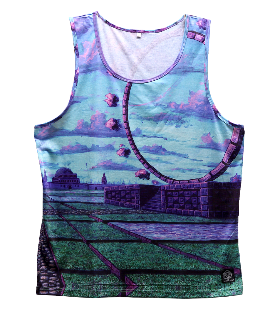 Tank Top - Gateway Plaza - Fractal Spirit