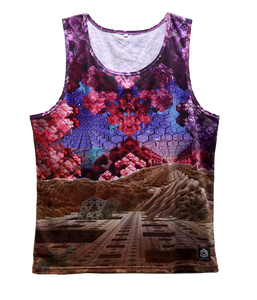 Tank Top - Valley of Shadow - Fractal Spirit