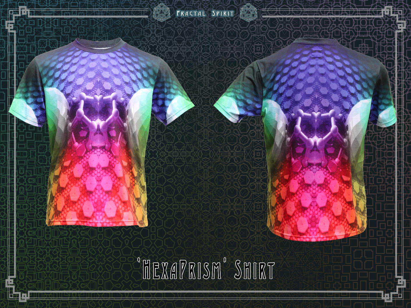 Shirt (Sublimation) - HexaPrism - Fractal Spirit