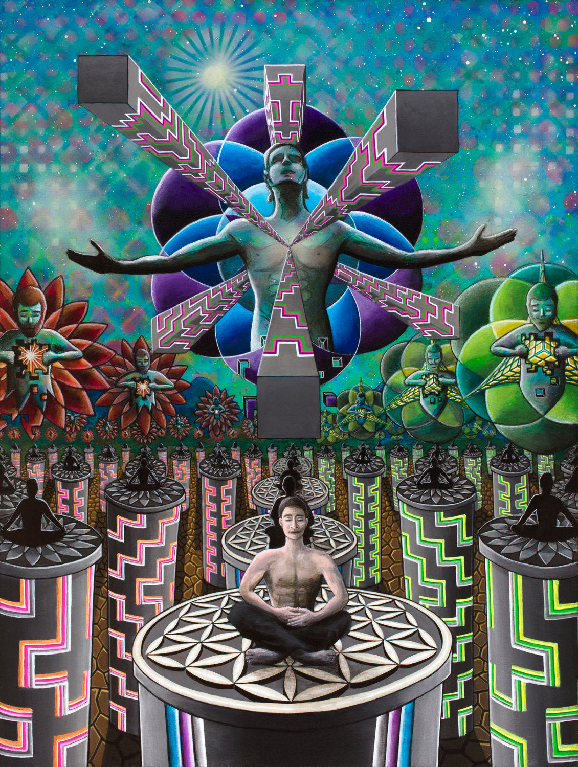 Fine Art Print - One With Everything - Fractal Spirit