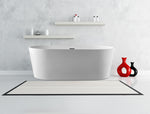 Karton Republic 67-inch  BT-03 Modern Freestanding Bathtub (Acrylic)