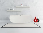 Karton Republic 75-inch BT-16 Modern Freestanding Bathtub (Acrylic)