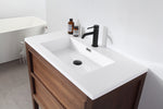 "ANNECY 36""  DARK WALNUT FREESTANDING MODERN BATHROOM VANITY"