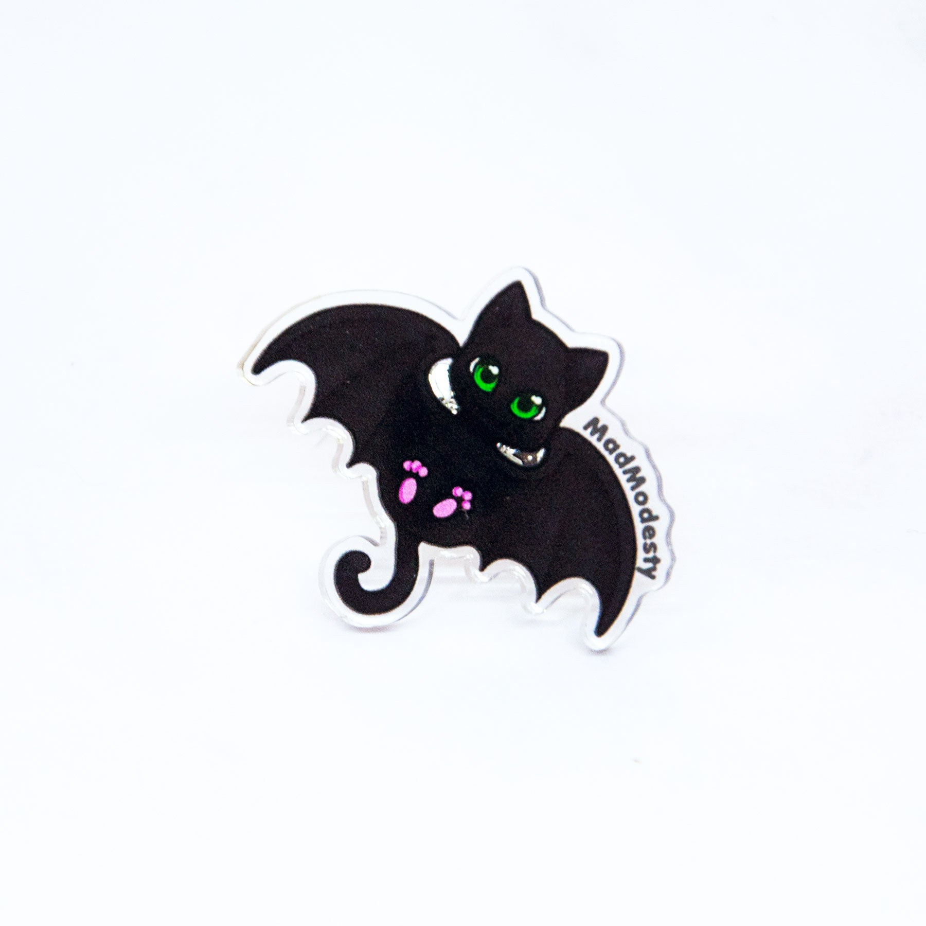 kawaii creepy cute bat cat ring - MadModesty