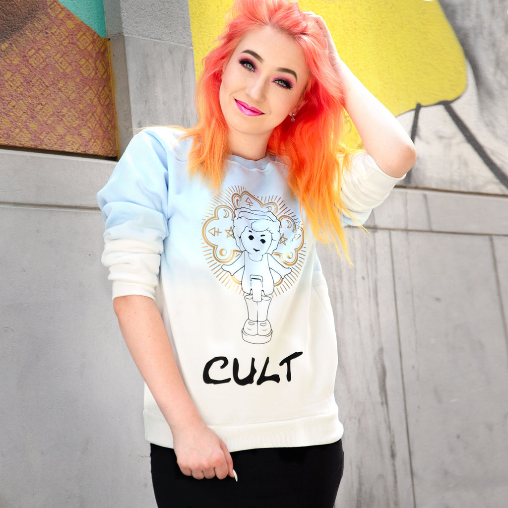 "Polly Pocket ""CULT"" sweater - MadModesty"