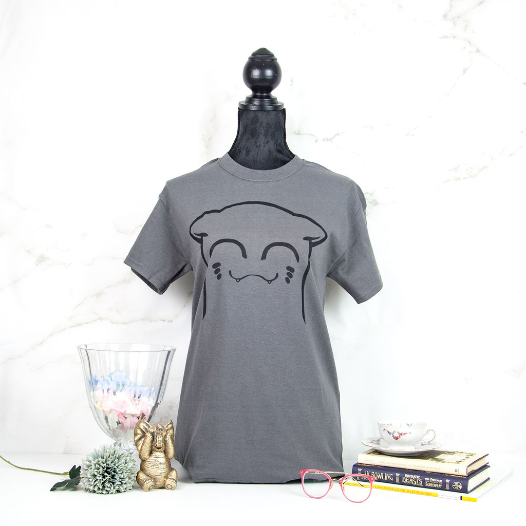 Smiling cat t-shirt - MadModesty