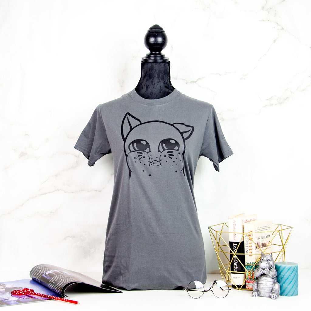 Snack thief cat T-shirt - MadModesty
