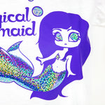 White magical mermaid  V-neck - MadModesty