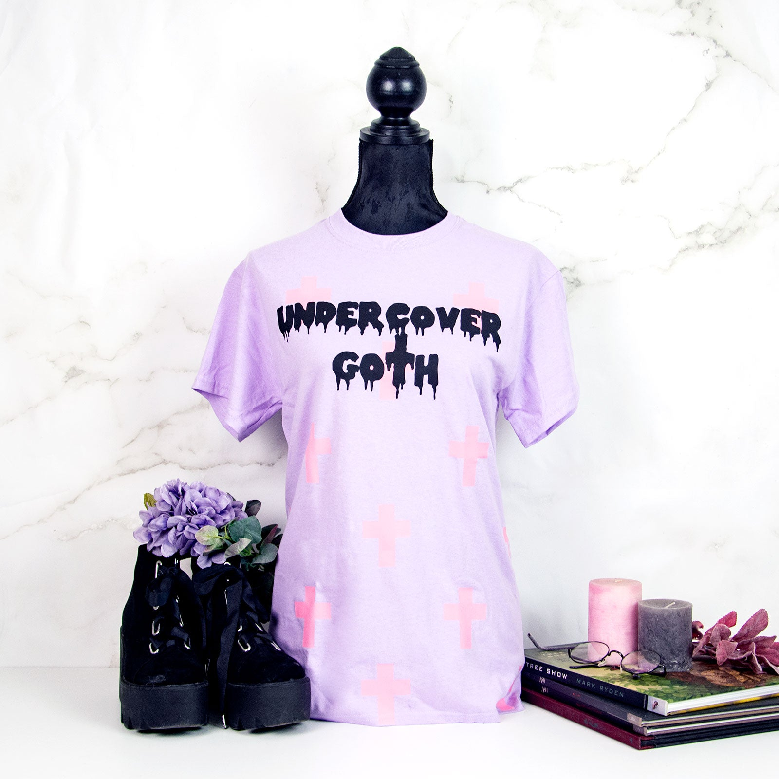 pastel goth T-shirt clothing fashion creepy cute