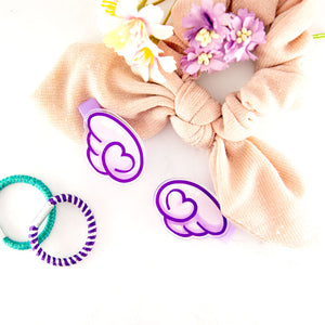 kawaii Angel wing hair clip set - MadModesty