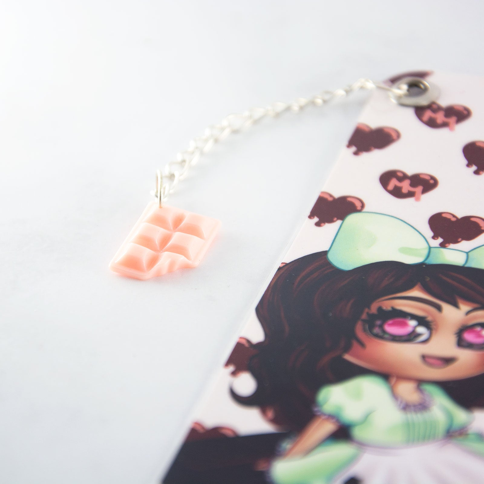 kawaii anime chibi maid girl Bookmark - MadModesty