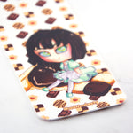 Anime manga chibi coffee maid art bookmark - MadModesty