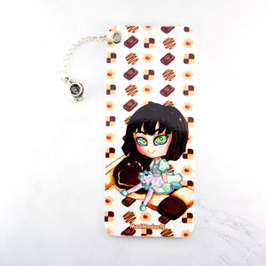 Kawaii maid coffee lover bookmark - MadModesty