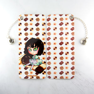 Kawaii japanese anime chibi girl art Bookmark - MadModesty