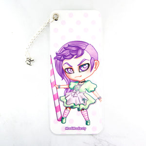 pastel goth anime chibi maid bookmark - MadModesty