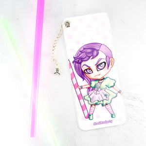pastel goth manga art maid bookmark - MadModesty