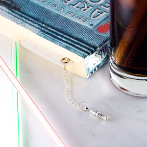 Soda maid bookmark with charm - MadModesty