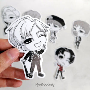 "BTS ""war of hormone"" stickers"