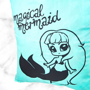 Kawaii chibi mermaid art fairy kei tote bag - MadModesty