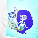 Holographic magical mermaid tote bag - MadModesty