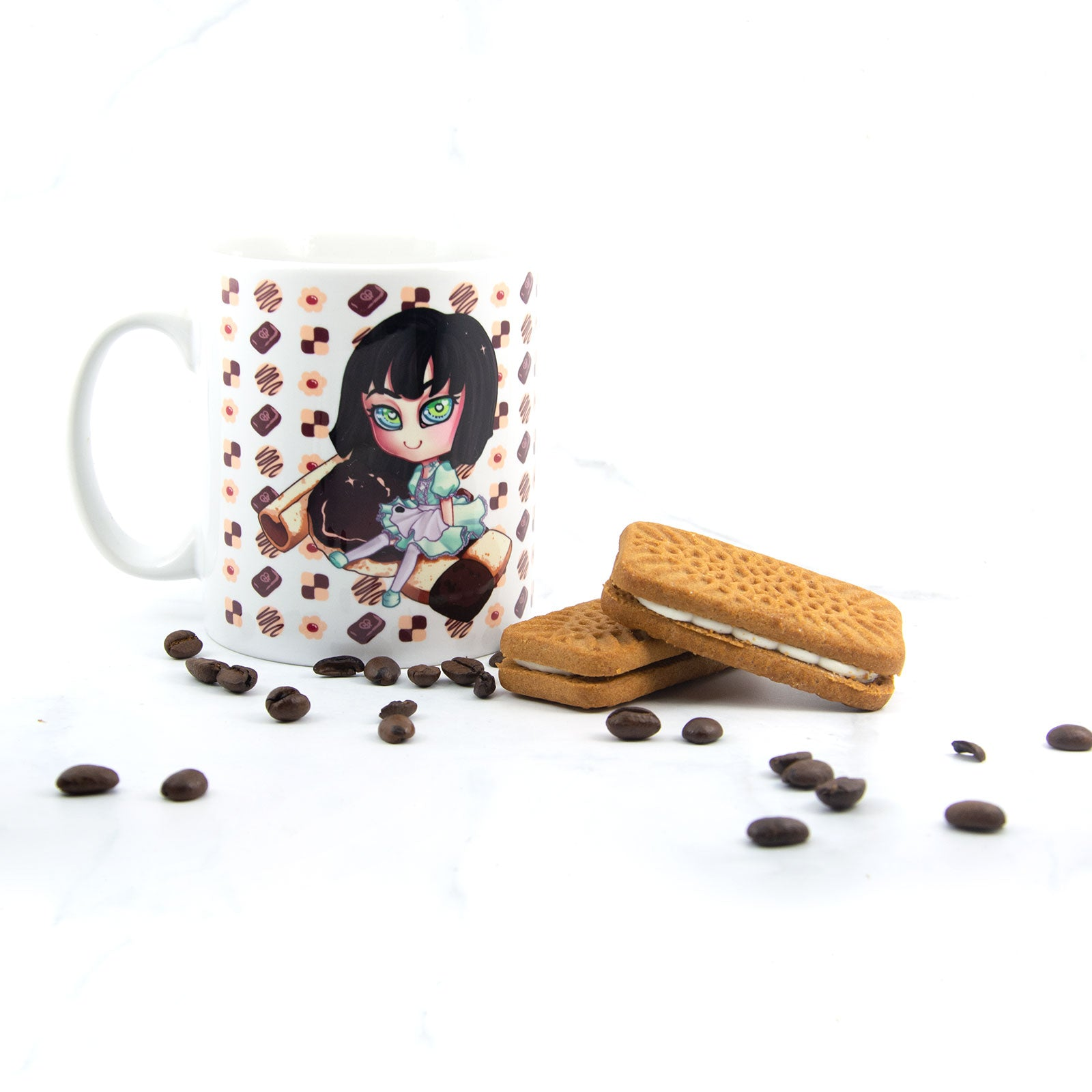 Cute japanese maid coffee mug - MadModesty