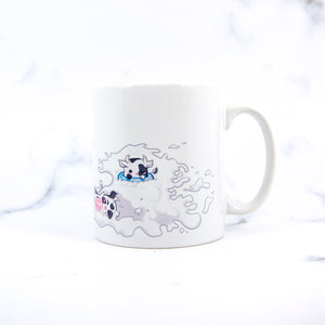 Kawaii Mmana milk themed chibi cow mug - MadModesty