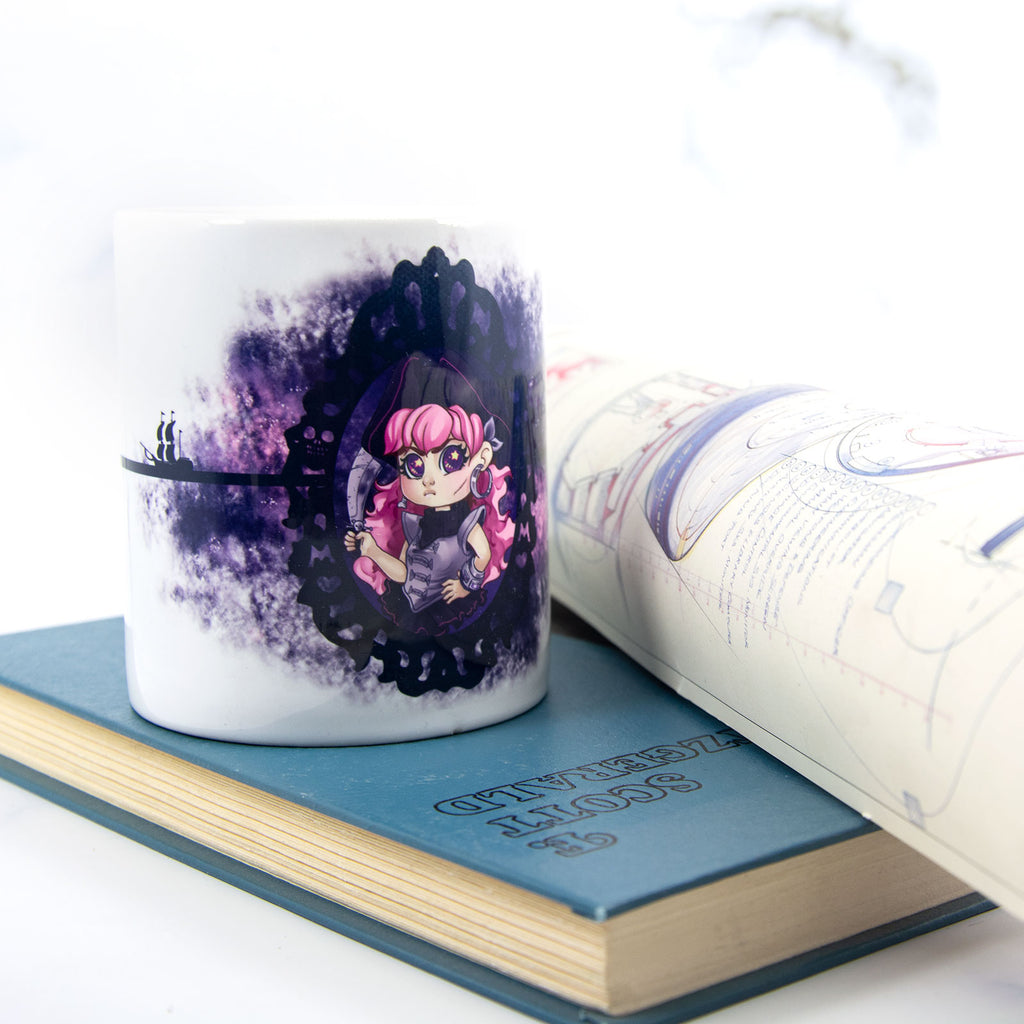 Space pirate mug - MadModesty