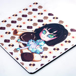 kawaii coffee maid waitress mousepad - MadModesty