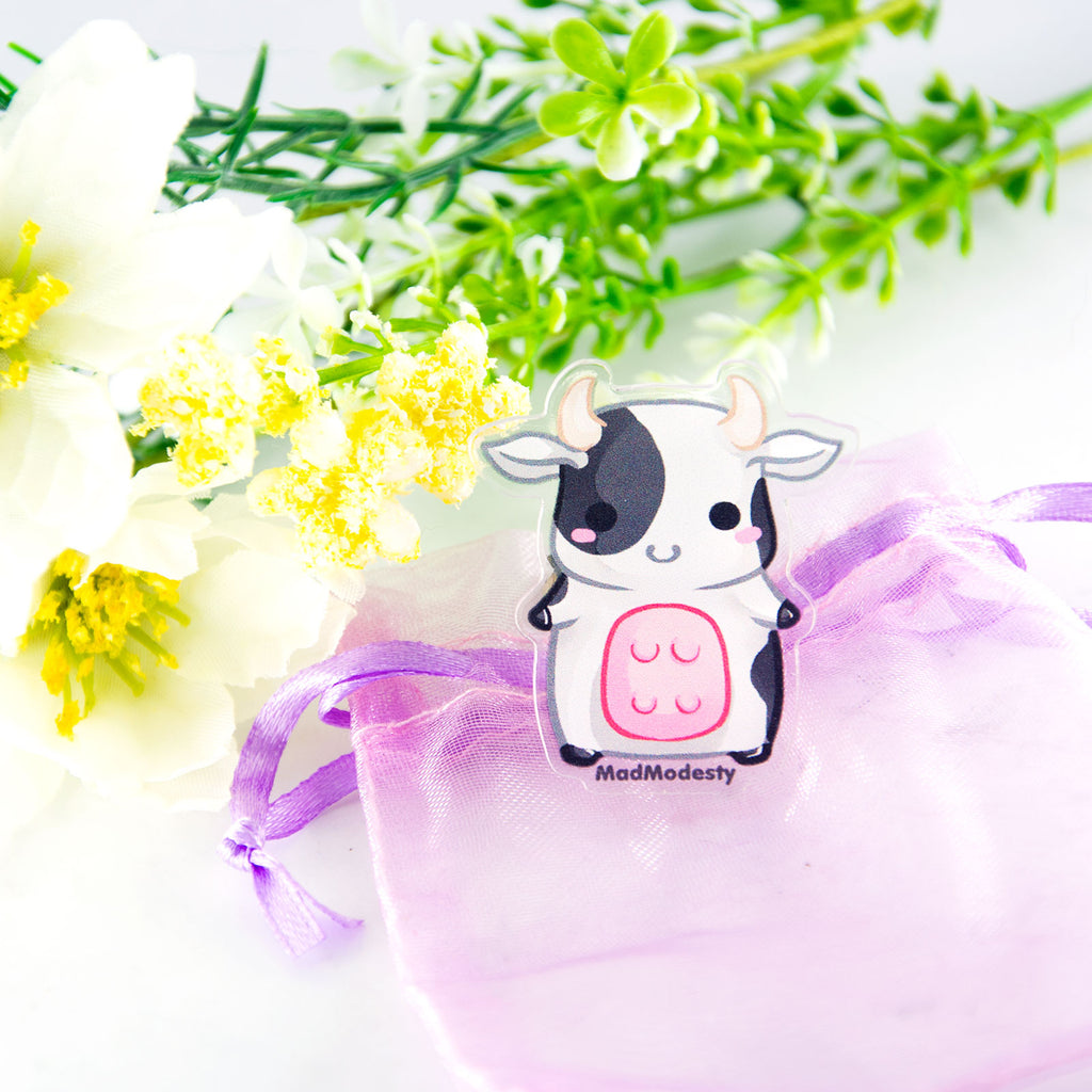 Cute baby cow ring - MadModesty