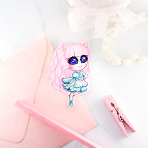 Fairy kei pastel fashion girl Sticker - MadModesty
