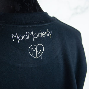 Soft goth sweater - 90s toy clothing - MadModesty