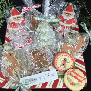 Holiday Cookies - Hand Decorated