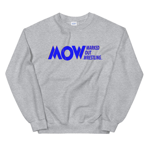 MARKED OUT WRESTLING UNISEX CREWNECK SWEATSHIRT