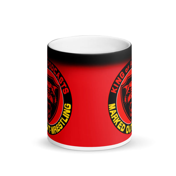 KING OF PODCASTS MATTE BLACK MAGIC MUG
