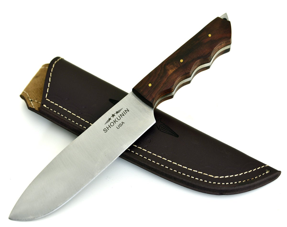 Chef's knife, Aphrodite, D2 Steel/Die Steel/PRO Chef's Knife/Walnut Wood Handle - SHOKUNIN USA