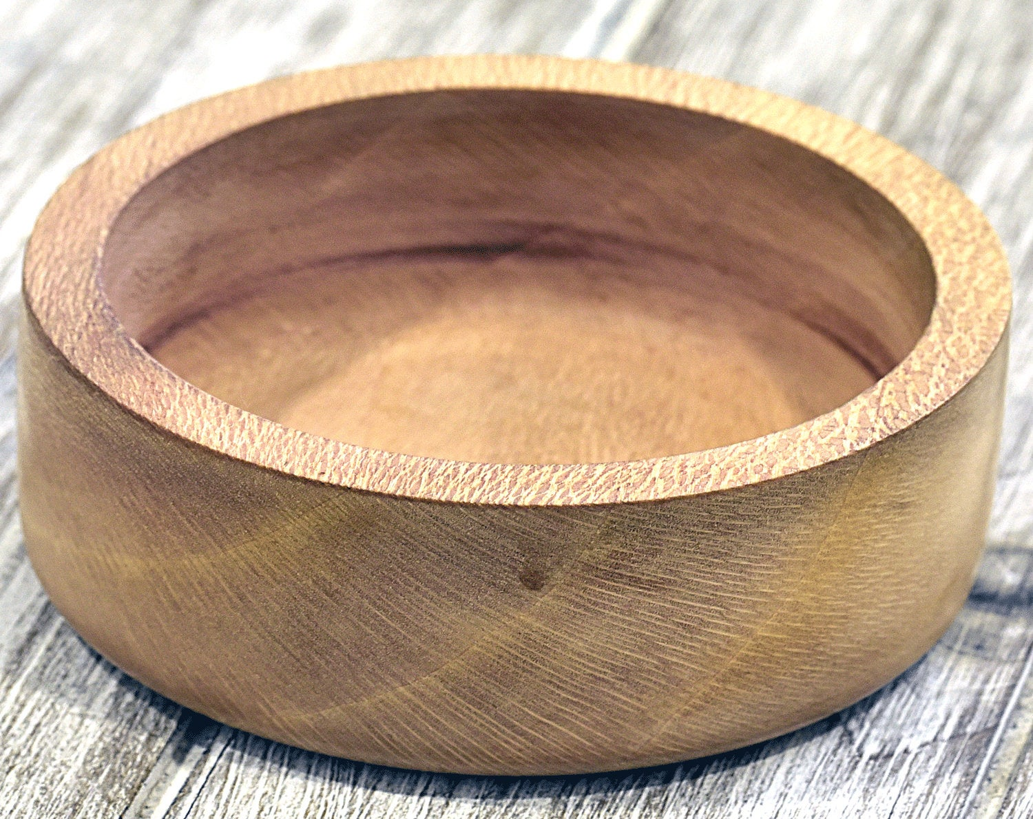 Shaving Bowl. Leopard wood - SHOKUNIN USA