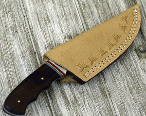 "9.0"", Damascus knife with walnut wood handle hunting/tactical/survival/custom/personalize Damascus steel knife - SHOKUNIN USA"